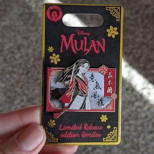 Disney Mulan Limited Edition Live collectors pin